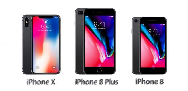 Images of iphone 8,iphone X,iphone Plus