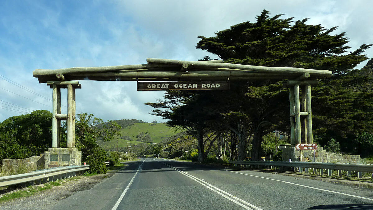 A picture of Great Ocean Road