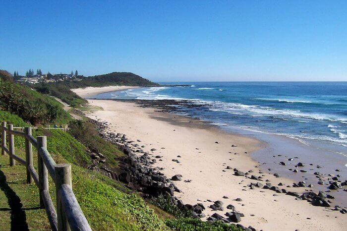 Shelly Beach in Sydney, Australia