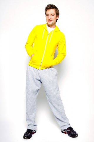 A model wearing Sweatpant
