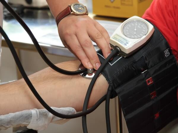 black and white blood pressure kit