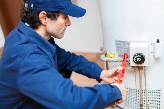 Installing hot water system in home