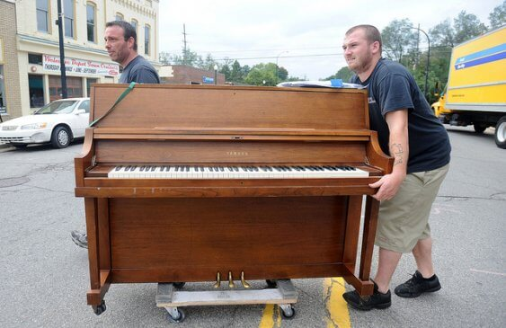 Piano movers in Sacramento