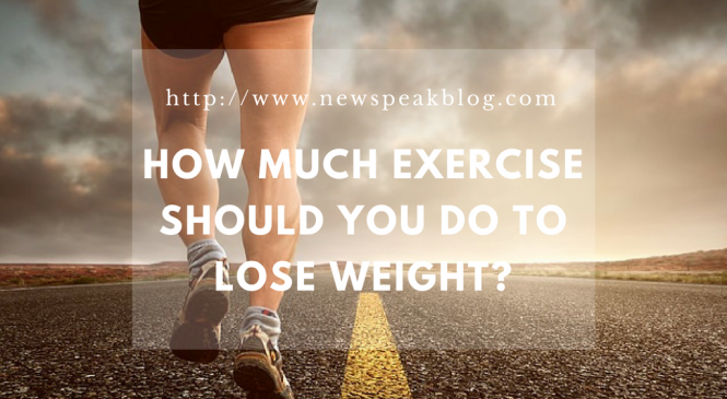How Much Exercises Should You Do to Lose Weight?