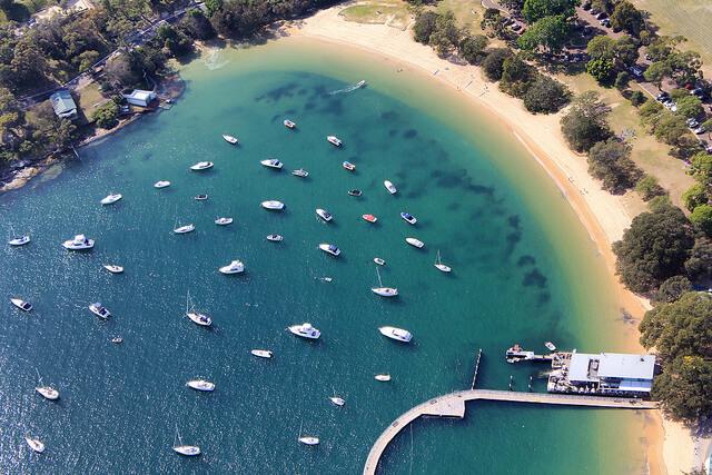 Balmoral Beach in Sydney, Australia