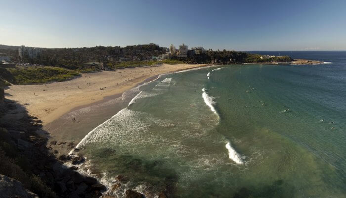 Freshwater Beach in Sydney, Australia