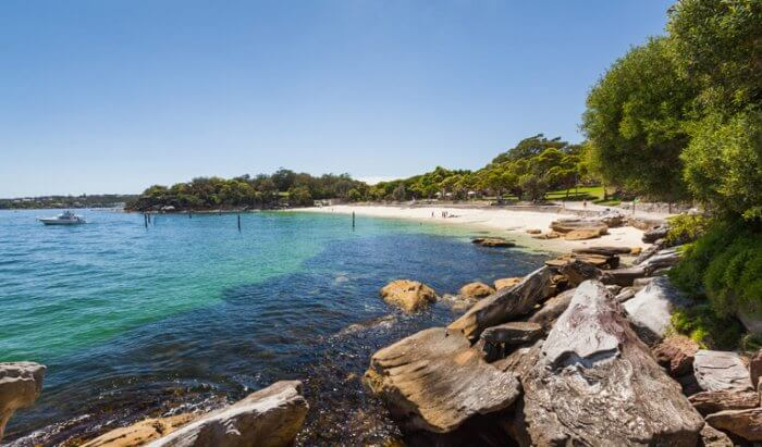 Nielson Park Beach in Sydney, Australia