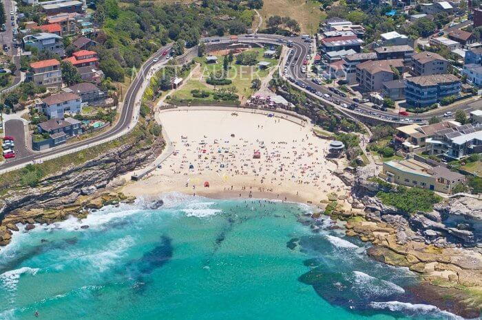 Tamarama Beach in Sydney, Australia