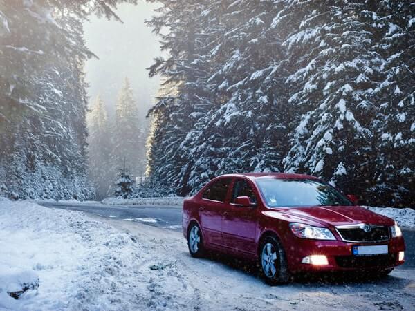 auto car cold driving