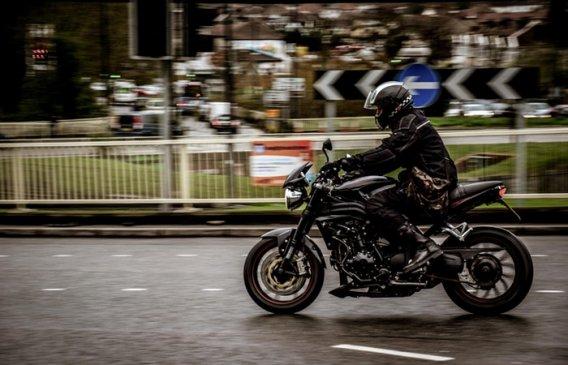 action bike biker blur