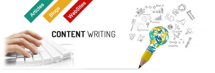 Image of content writing
