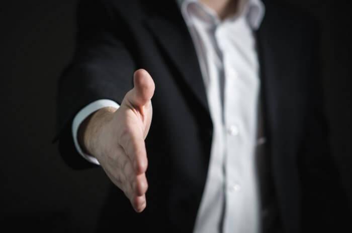 Closeup of Human Hand