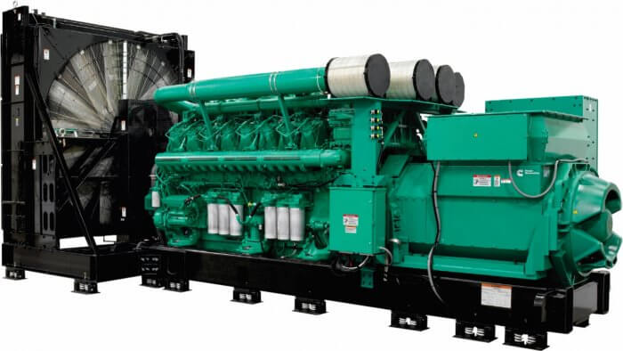 Image of a big generator for home