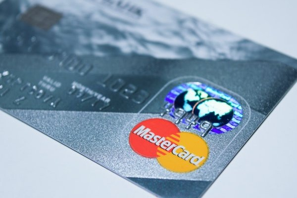 Picture of Master debit card