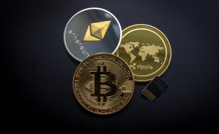 ripple, etehereum and bitcoin